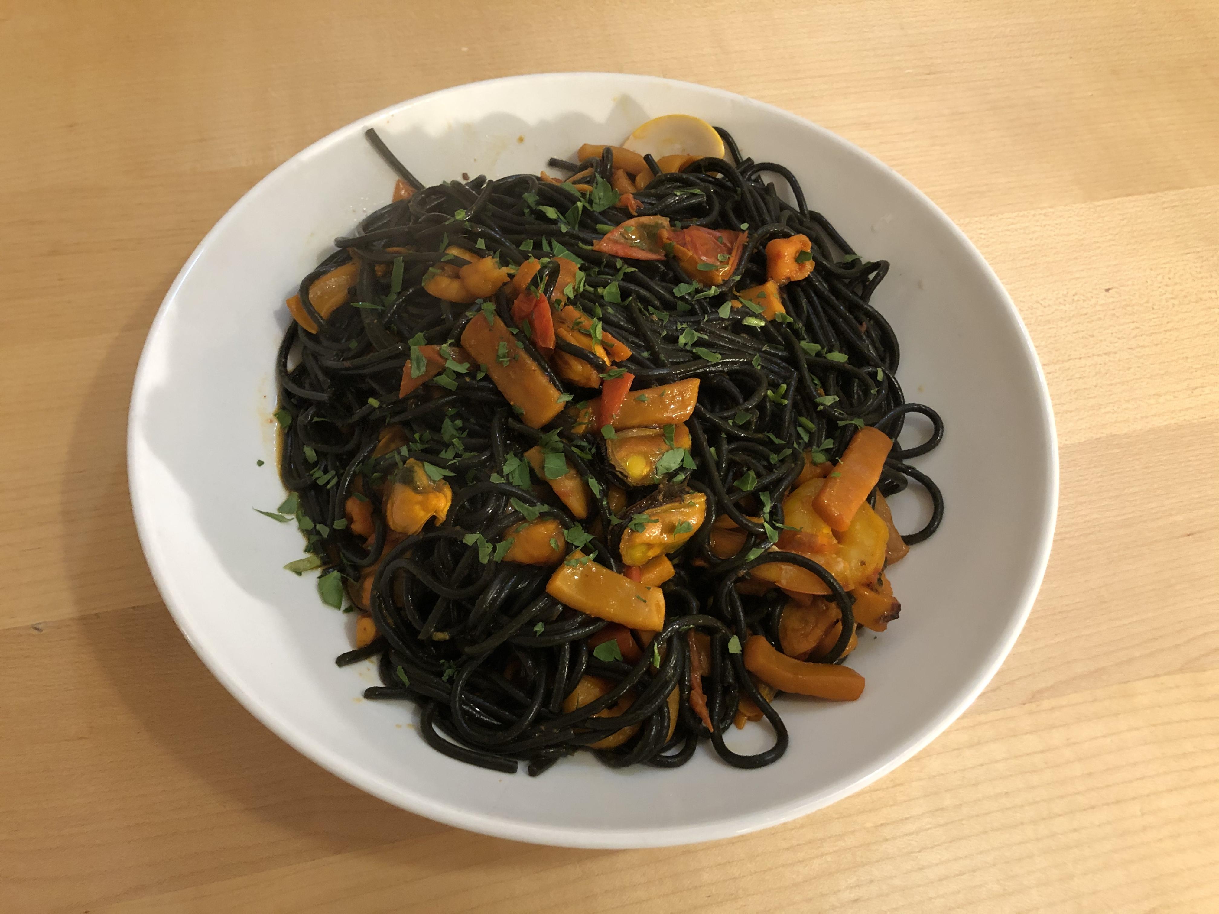 Spaghetti Neri